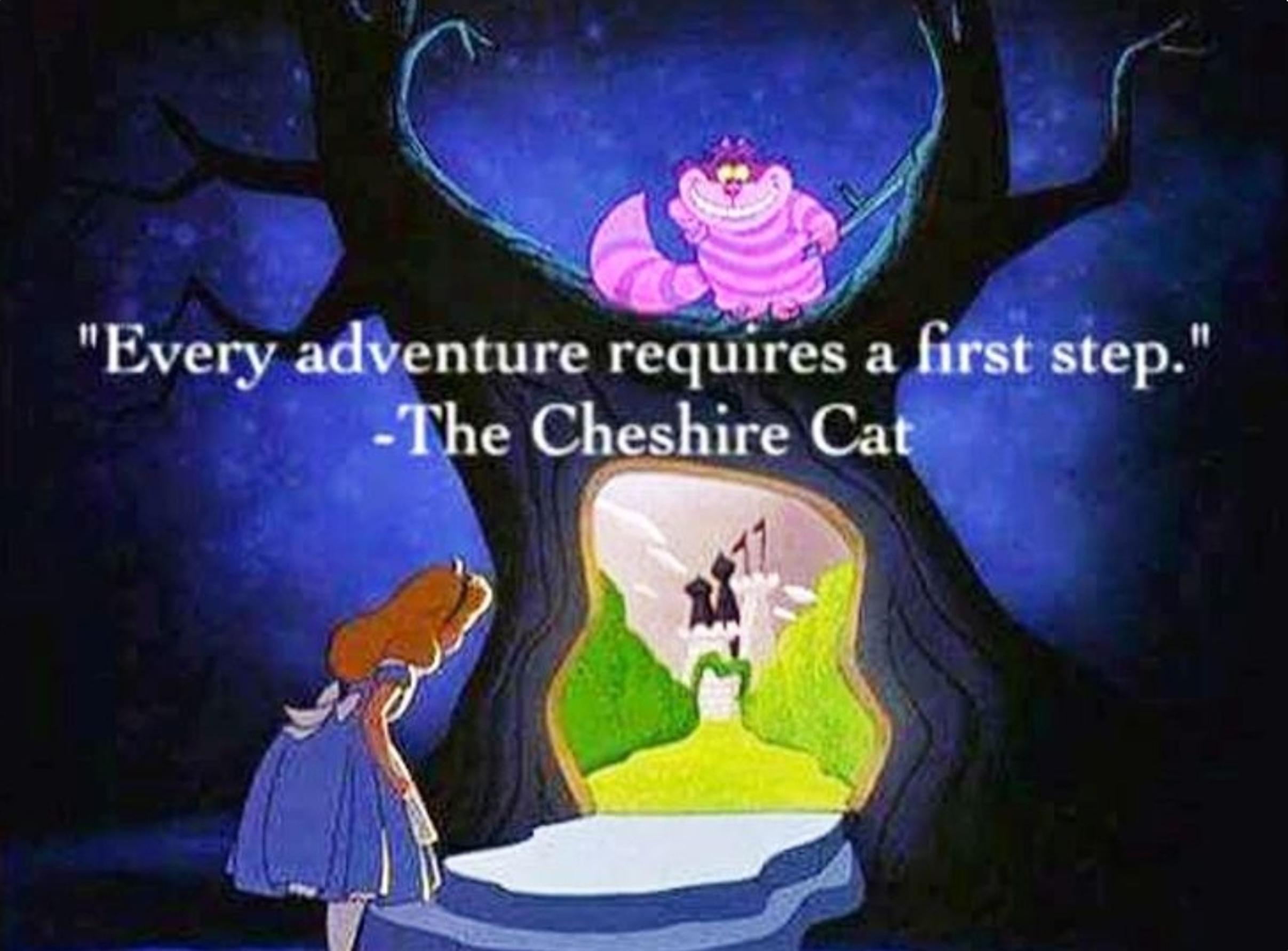 Cada aventura requiere un primer paso