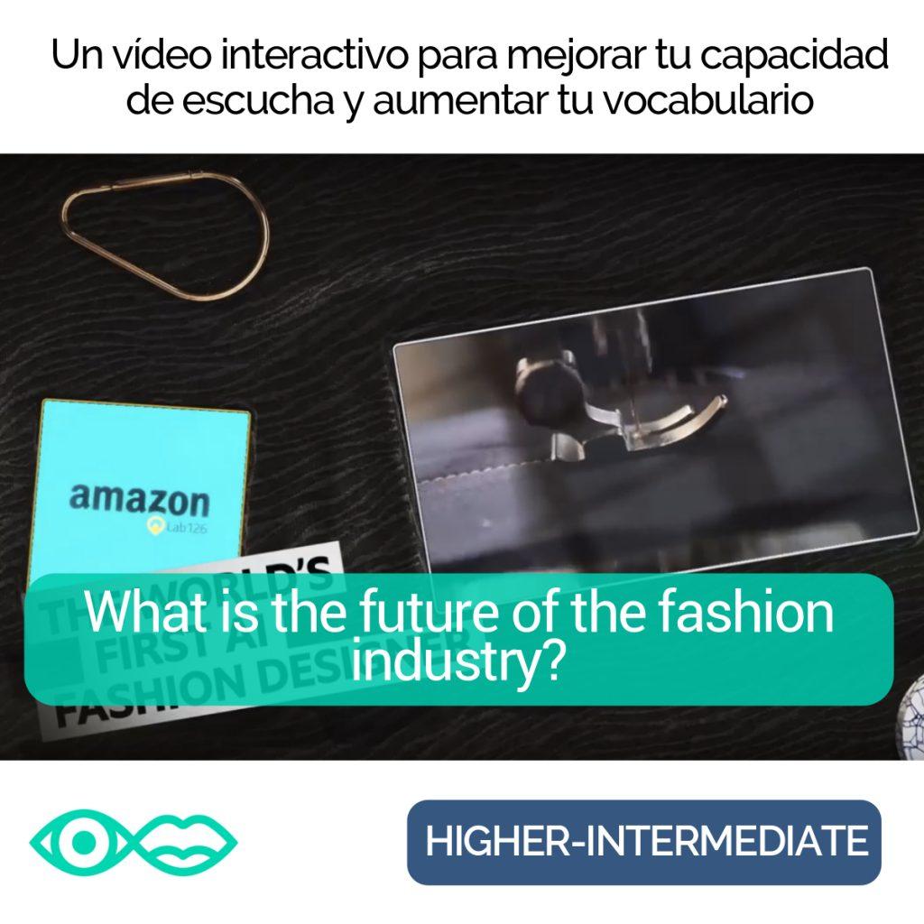 Future fashion interactive video