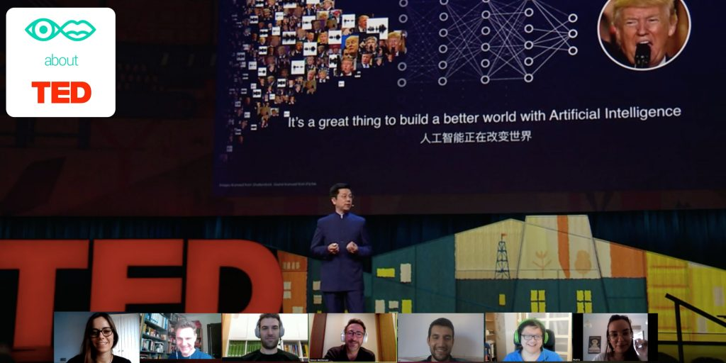 Watch and talk about Ted online event