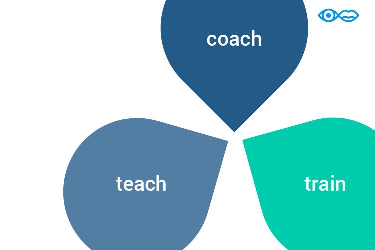 coach teach train